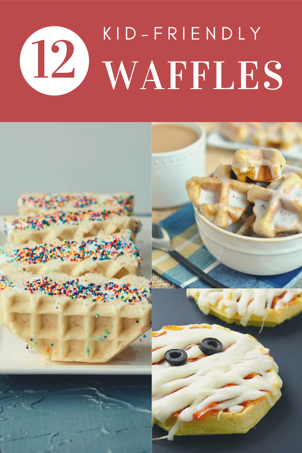 Whether you're serving breakfast, lunch or just an afternoon snack, we've got you covered with any of these easy Kid-Friendly Waffle recipes!