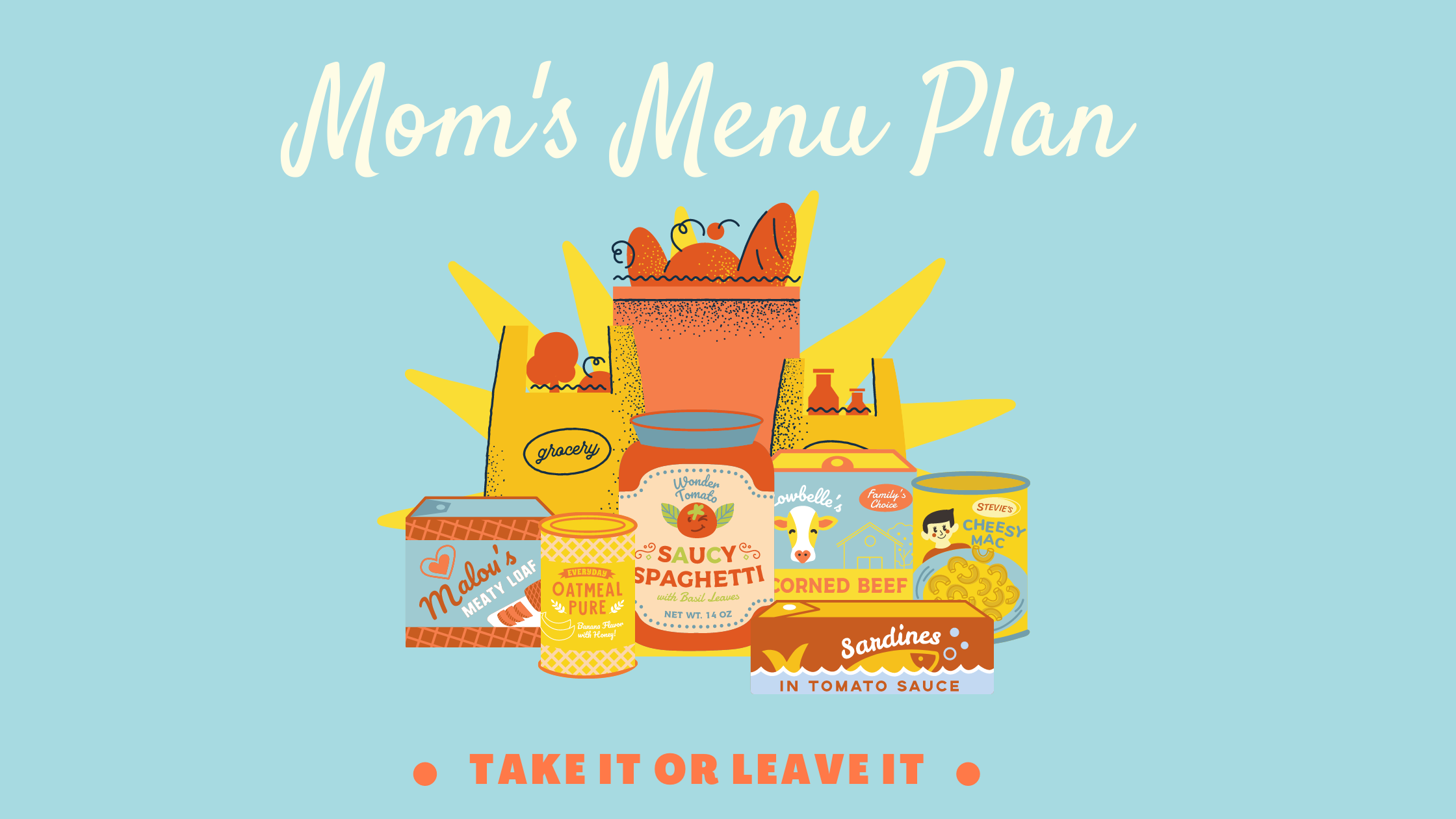 Mom's Menu Plan Logo